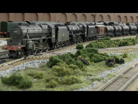 North East model railway - Heavy Oil
