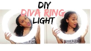 getlinkyoutube.com-DIY Diva Ring Light | Under $25