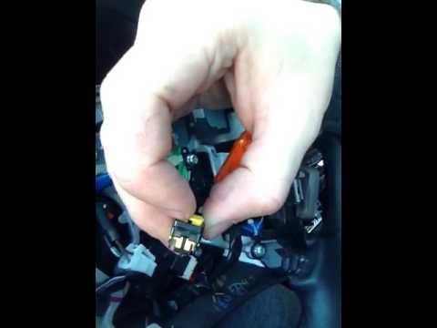 Как снять руль с Lexus LS460L