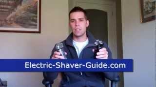 getlinkyoutube.com-Foil vs Rotary Shavers - Braun Series 7 vs SensoTouch 3D