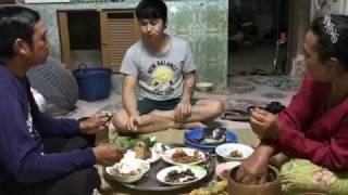 getlinkyoutube.com-ก้อยกุ้ง ทอดปลาตะเพียน ต้มหอยขัว ตำถั่วปี ข้าวแลง