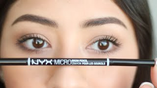 Eyebrow Routine: How I Groom and Fill In My Eyebrows! ft. NYX MicroBrow Pencil