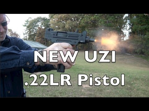 New UZI .22LR Pistol Shooting Review