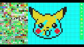 Growtopia Speed Pixel art - Pikachu Small (Growtopia Level Planner) (UPDATED DOWNLOAD)