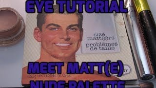 getlinkyoutube.com-Meet Matt(e) Nude Palette Tutorial