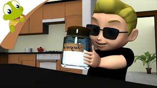 getlinkyoutube.com-Johny Johny Yes Papa 3D Nursery Rhymes for children