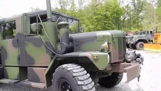 getlinkyoutube.com-M35A3 Custom crew cab by C&C Equipment