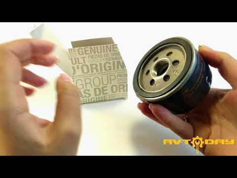 Оригинальный масляный фильтр Рено Сандеро 1.4 1.6 8V-16V