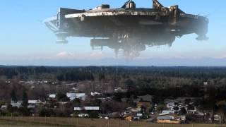 getlinkyoutube.com-Screen Effects District 9  Spaceship . Cerro la virgen Yumbel