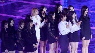 171225 트와이스(TWICE),레드벨벳(Red Velvet) 전출연진 오프닝 직캠 Fancam (가요대전)  by Mera