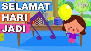 getlinkyoutube.com-Lagu Kanak Kanak Alif & Mimi - Selamat Hari Jadi (Animasi 2D)