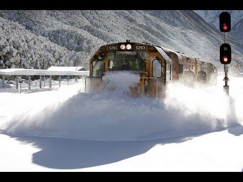 Śnieżny kataklizm na torach