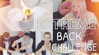 EXTREME BACK-CHALLENGE mit  BRAND ESKALATION | BibisBeautyPalace