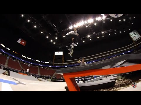 Street League 2012: AZ Practice Quick Clip with Chaz Ortiz