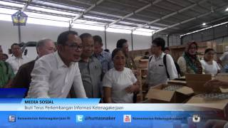 getlinkyoutube.com-Sidak Menaker Hanif Dhakiri Ke PT Carvina Trijaya Makmur, Sulawesi