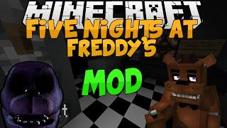 getlinkyoutube.com-Minecraft Mods || FIVE NIGHTS AT FREDDY'S!!! || Freddy, Bonnie, and MORE!!! || Mod Showcase [1.7.10]