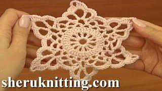 getlinkyoutube.com-Crochet Motif  Pattern Tutorial 13 Part 1 of 2