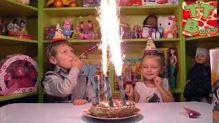 getlinkyoutube.com-✔BRUDER. Пожарная машинка – подарок от Ярославы для Игорька в День Рождения / Video for kids ✔