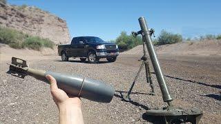 Bracketing Mortars On My Truck