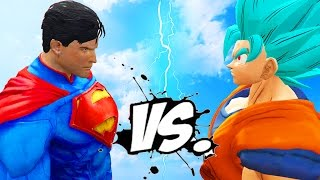 Goku vs Superman - Epic Battle