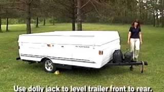getlinkyoutube.com-Fleetwood Folding Camper Set Up