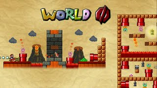 Mario Forever - The Minus Worlds 1.8 (World Slashed Zero Walkthrough) [HD]