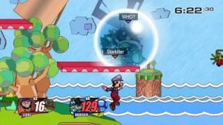 getlinkyoutube.com-[SSF2 Beta Dev Blog #16] Starkiller (Luigi) vs. Spid3y916 (Bowser)