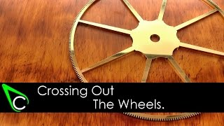 getlinkyoutube.com-How To Make A Clock In The Home Machine Shop - Part 6 - Crossing Out The Wheels