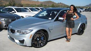 getlinkyoutube.com-BMW M3 Silverstone / Sakhir Orange / Exhaust Sound / BMW Review