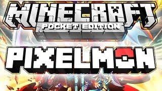 getlinkyoutube.com-Pixelmon - MOD - Minecraft PE - 0.15.0/0.16.0 - DOWNLOAD