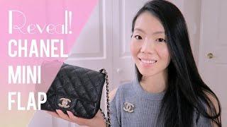 getlinkyoutube.com-CHANEL MINI SQUARE CLASSIC FLAP CRUISE 2017 REVEAL! | FashionablyAMY