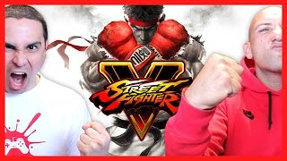 2J vs X-Man! (Street Fighter V)