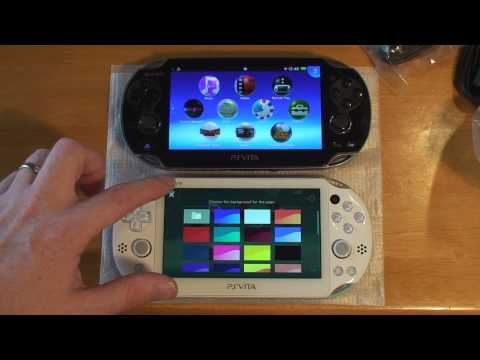 Worlds 1st PlayStation Vita 2000 unboxing