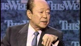 getlinkyoutube.com-宮沢喜一総理の英語インタビュー Kiichi Miyazawa English Interview