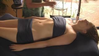 getlinkyoutube.com-Chest & Abdomen Massage Therapy; Swedish Techniques; Complete Body Part 2