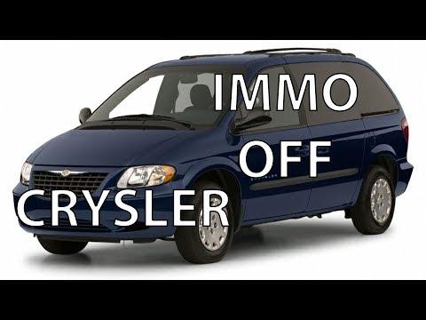Отключение иммобилайзера Crysler Voyadger 2001