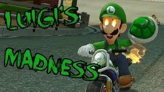getlinkyoutube.com-Mario kart 8 | Luigi's Madness