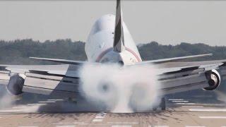 getlinkyoutube.com-Very HARD Boeing 747 Landing