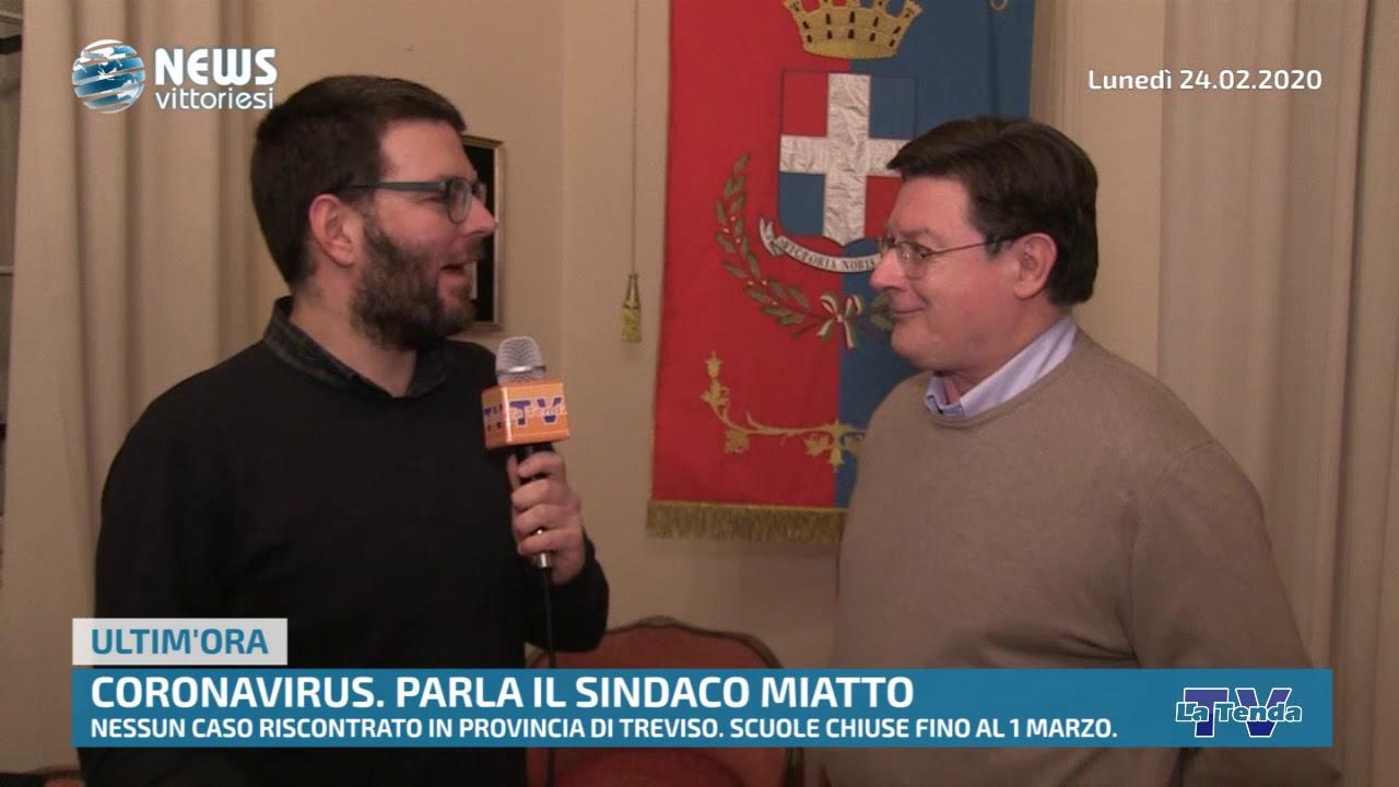 News vittoriesi - Coronavirus: parla il sindaco Miatto