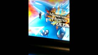 Monster hunter 4 ulimate relic status over 9000 tutorial p1