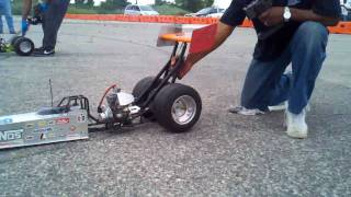 getlinkyoutube.com-1/4 scale dragster race www.Nitrostreets.com