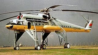 "getlinkyoutube.com-The Largest Soviet Flying Crane Helicopter - Mil Mi-10 ""Harke"""
