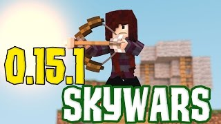 getlinkyoutube.com-MINECRAFT POCKET EDITION 0.15.X - SERVIDOR DE SKYWARS, COMO REGISTRAR E JOGAR! (MCPE - MINECRAFT PE)