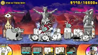 getlinkyoutube.com-The Battle Cats - Attack on Titanium Hard++