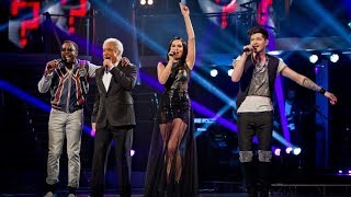getlinkyoutube.com-The Voice UK Coaches Take On Each Other's Hits - The Voice UK - Live Final - BBC One