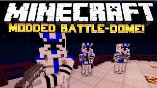 getlinkyoutube.com-STAR WARS MOD! - Minecraft: Modded Battle-Dome! - w/Preston & Friends!