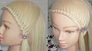 getlinkyoutube.com-Peinado de Moda con Nudos♥ | knotted hairstyle | ViriYueMoon