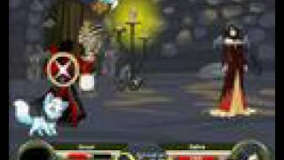 getlinkyoutube.com-Adventure Quest Battleon Zeruel vs The lv 200 Safiria