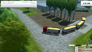 getlinkyoutube.com-Farming Simulator 2013 - Fliegl Scania mod pack + Fliegl trailers