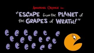 "getlinkyoutube.com-Annoying Orange HFA Season 1 Episode 13: ""Escape from the Planet of the Grapes of Wrath!"""